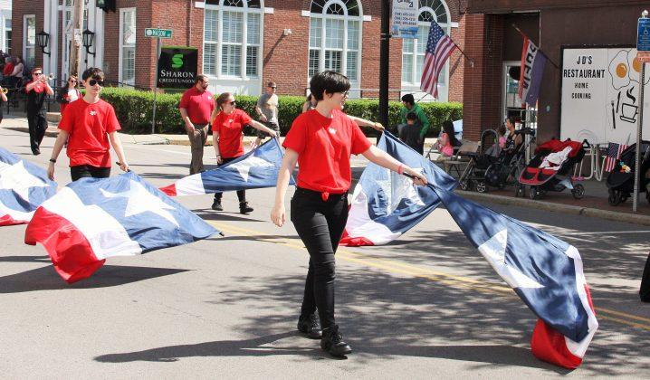 North Attleborough High School Color Guard