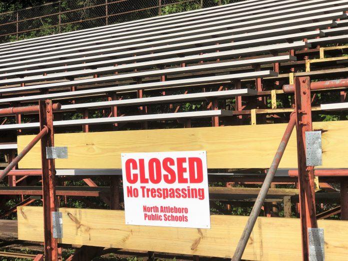 High School Bleacher closed