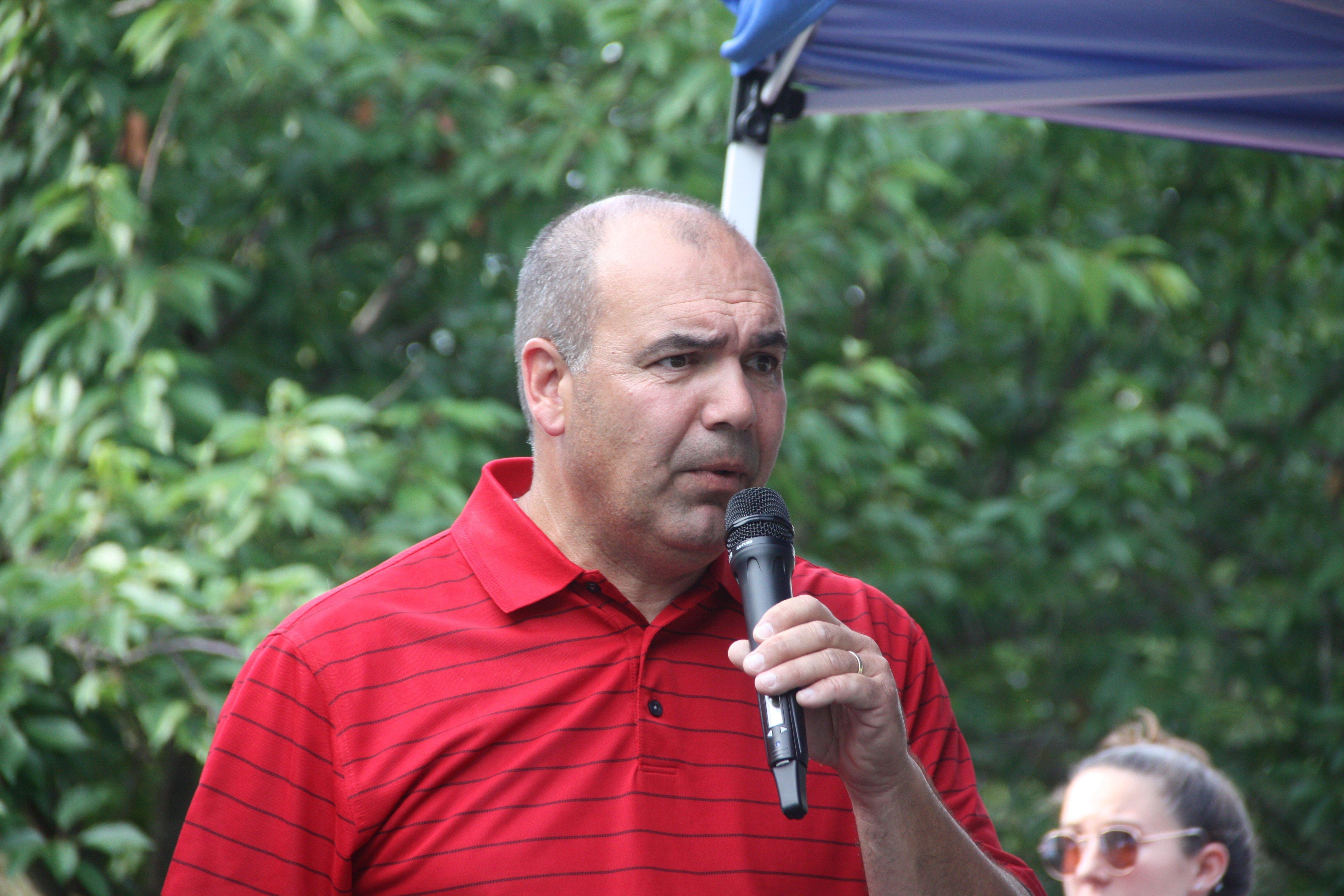Park and Recreation Director Steve Carvalho